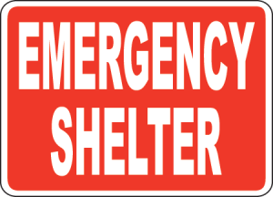 Emergency Shelter, What will yours be?