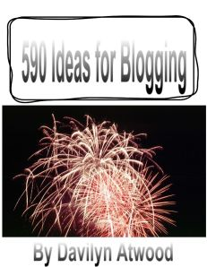590 Ideas to Blog About